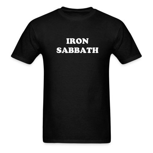 IRON SABBATH - Men's T-Shirt