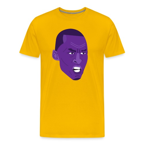 The Kobe Face - Men's Premium T-Shirt