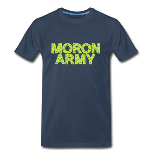 MORON ARMY - Smiles and paws - Men's Premium T-Shirt