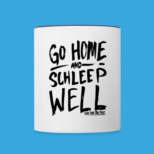 Schleep Well Mug (Color) - Contrast Coffee Mug