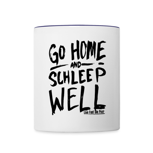 Schleep Well Mug (Color) - Contrast Coffee Mug