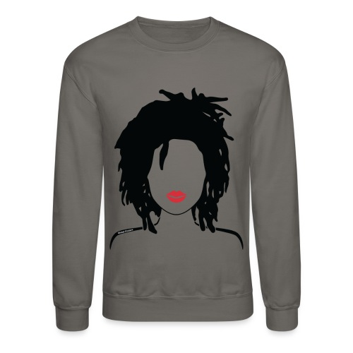 Locs & lipstick - Crewneck Sweatshirt