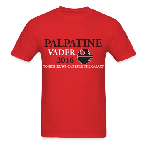 Palpatine/Vader 2016 - Men's T-Shirt
