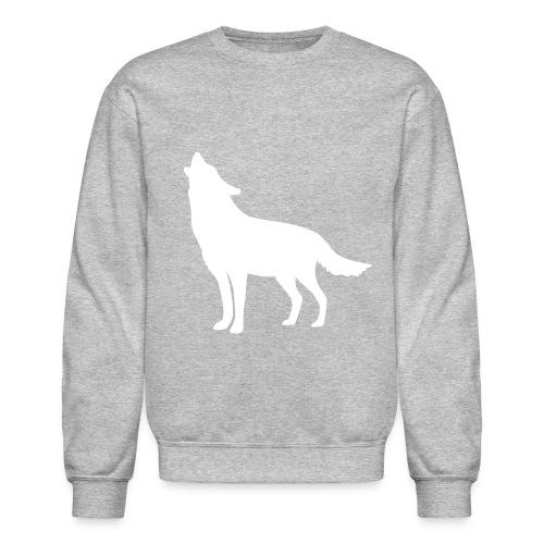Men's Wolf Crewneck Sweatshirt - Crewneck Sweatshirt