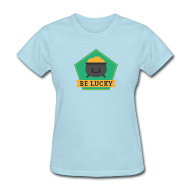 Women's T-Shirts ~ Women's T-Shirt ~ Lucky Pot of Gold - St. Patrick's Day