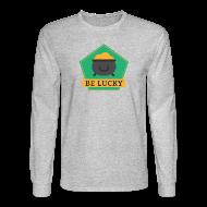 Long Sleeve Shirts ~ Men's Long Sleeve T-Shirt ~ Lucky Pot of Gold - St. Patrick's Day