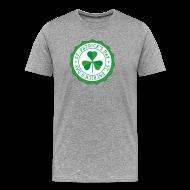 T-Shirts ~ Men's Premium T-Shirt ~ Lucky Shamrock Badge - St. Patrick's Day