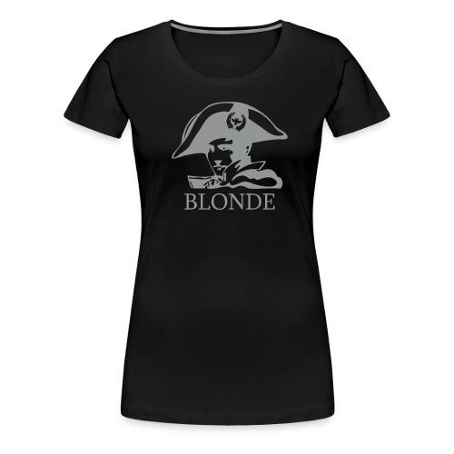 Napoleon BLONDE bust short sleeve digital direct - Women's Premium T-Shirt