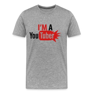 I'm a Youtuber! WYS? - Men's Premium T-Shirt