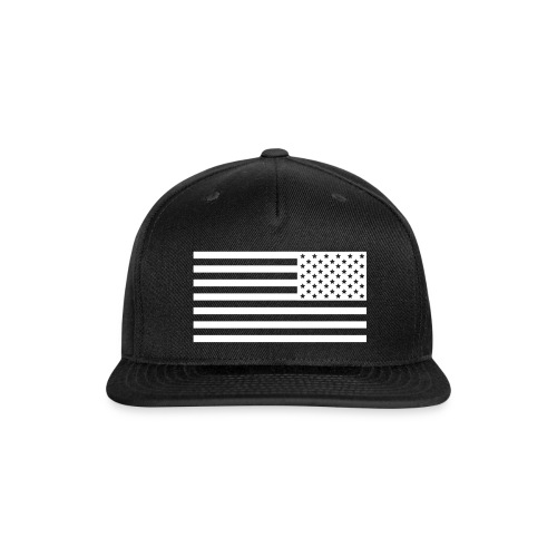 Snap-back Flag Baseball Cap - Snap-back Baseball Cap
