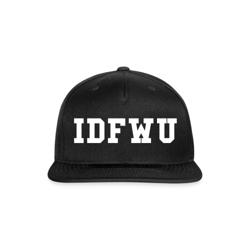 Snap-back IDFWU Baseball Cap - Snap-back Baseball Cap