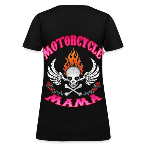 MOTORCYCLE MAMA - Women's T-Shirt
