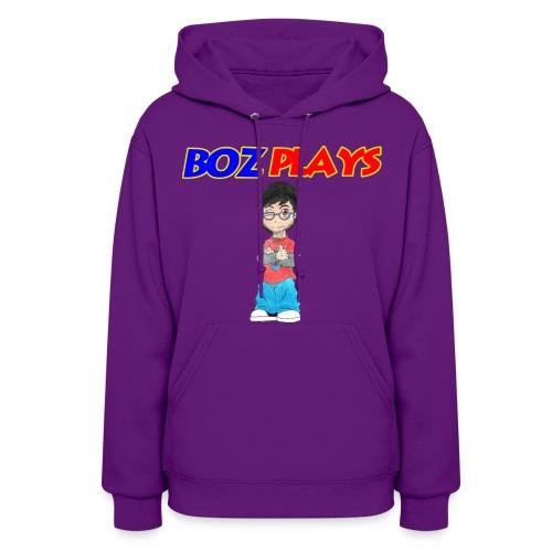 BozPlays Hoodie (Women's) - Women's Hoodie