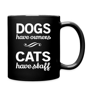 CATS HAVE STAFF - Full Color Mug