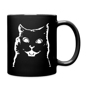 SURPRISED CAT - Full Color Mug