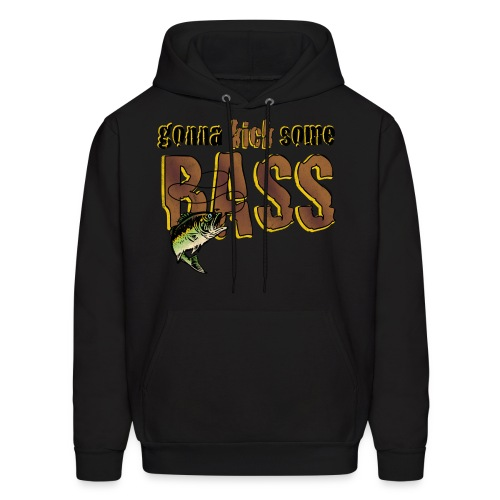 Gonna kick some bASS - Men's Hoodie
