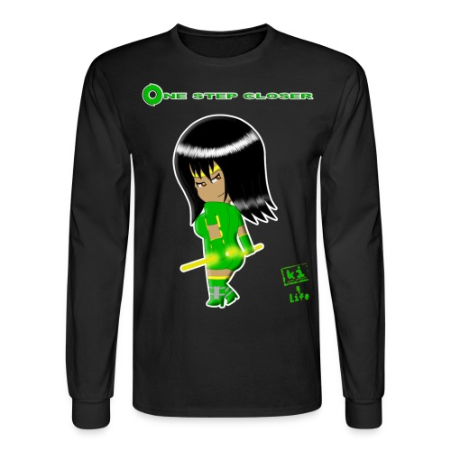One step closer - Men's Long Sleeve T-Shirt
