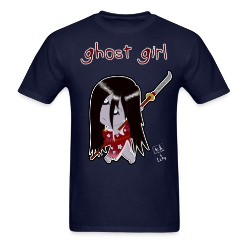 Ghost Girl - Men's T-Shirt