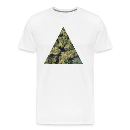 Weed Triangle - Men's Premium T-Shirt
