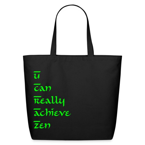 UCRAZ Eco Shopping/Beach/Gym Bag - Eco-Friendly Cotton Tote