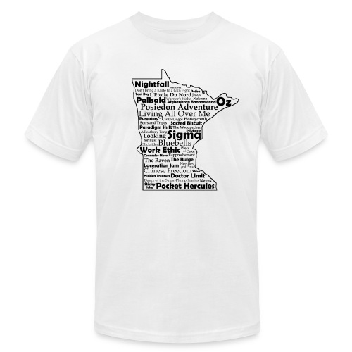 Men's Premium Tee - Men's T-Shirt by American Apparel