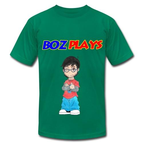 BozPlays T-Shirt (Men's) - Men's Fine Jersey T-Shirt