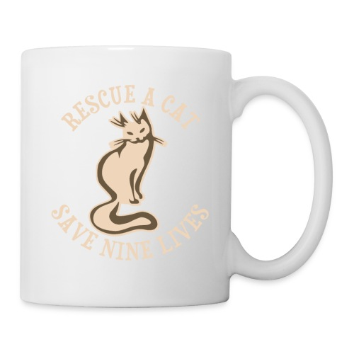 RESCUE A CAT - Coffee/Tea Mug