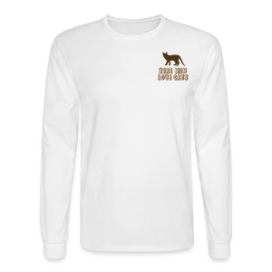 REAL MEN LOVE CATS - Men's Long Sleeve T-Shirt