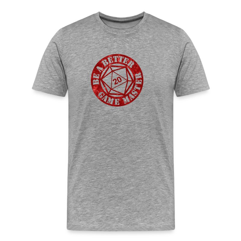 BaBGM Logo (Red) - Men's Premium T-Shirt