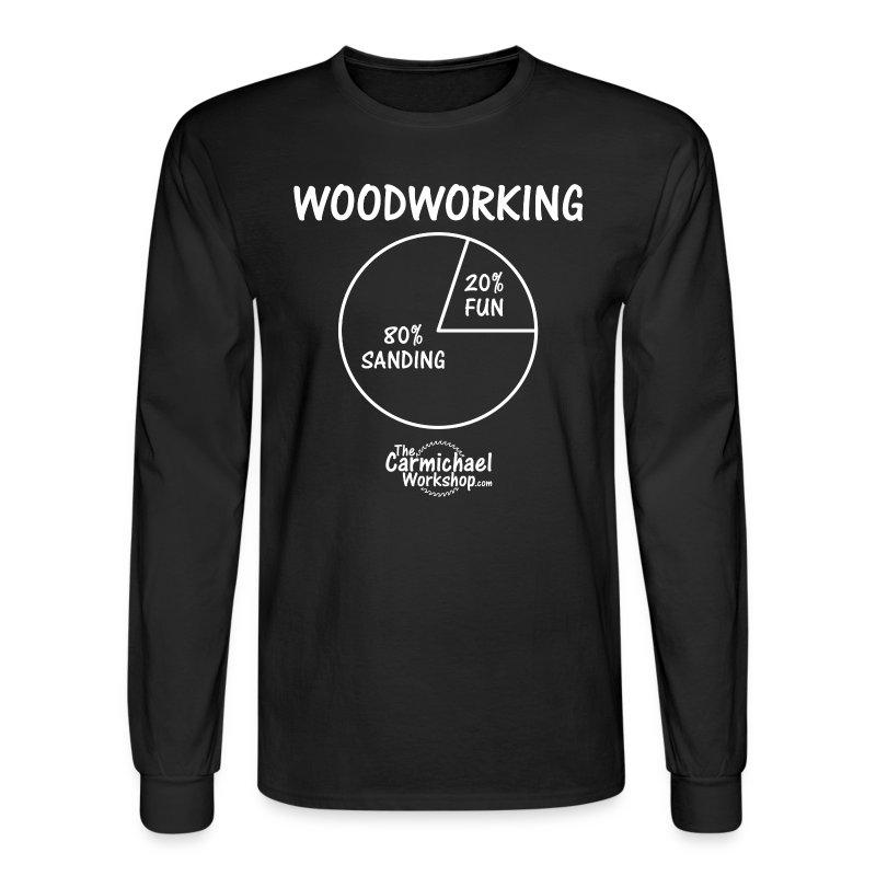 Pie Chart Long Sleeve - Men's Long Sleeve T-Shirt