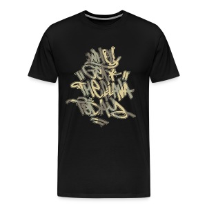Who Got The Flava Today? Orinal Camo Tag  - Men's Premium T-Shirt