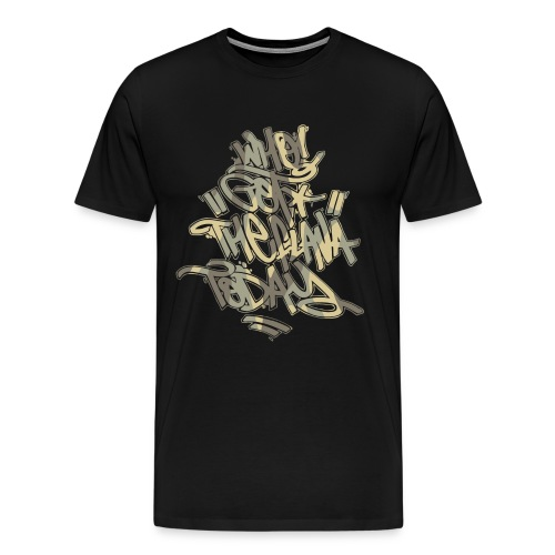 Who Got The Flava Today? Orinal Camo Tag  - Men's Premium T-Shirt