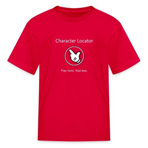 Character Locator Kids Tshirt - Kids' T-Shirt
