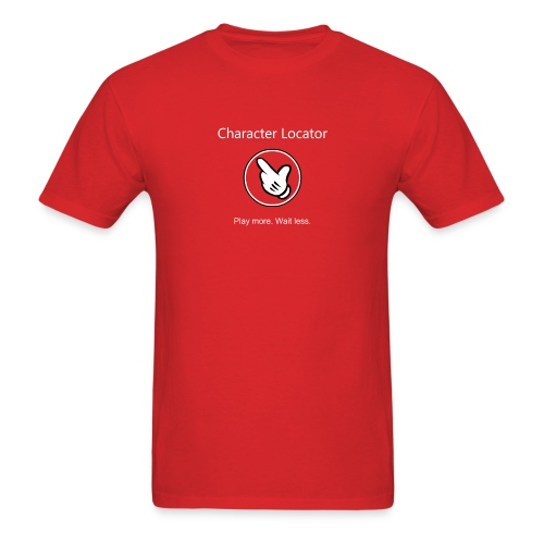 Character Locator Men's Tshirt - Men's T-Shirt