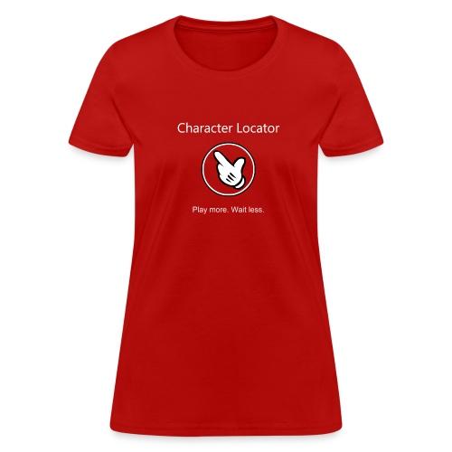 Character Locator Women's Tshirt - Women's T-Shirt