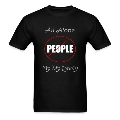 No People - Men's T-Shirt