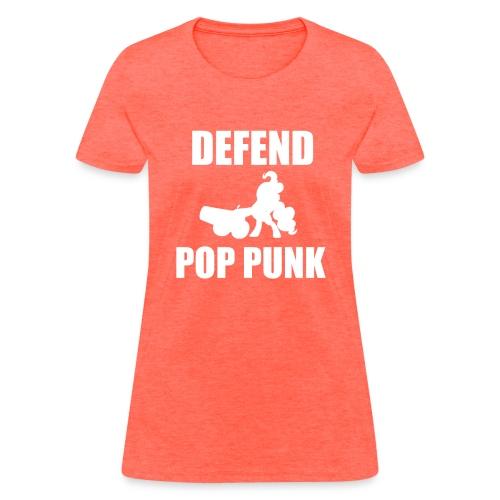 (F) Defend Pony Pop Punk - Women's T-Shirt