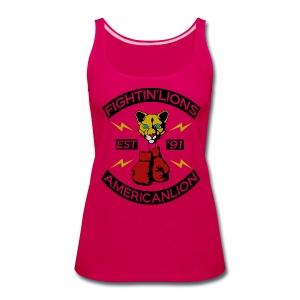 W Fightin Lion Tank - Women's Premium Tank Top