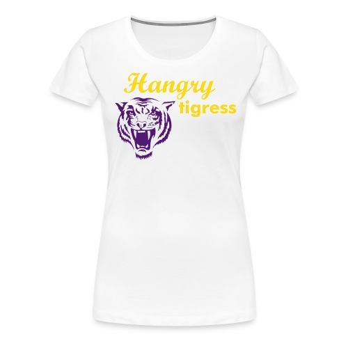 Hangry Tigress - Women's Premium T-Shirt