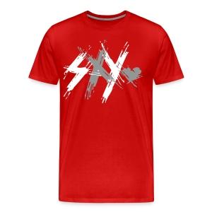 Sxy Logo Colors - Men's Premium T-Shirt