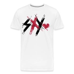 Sxy Logo White - Men's Premium T-Shirt