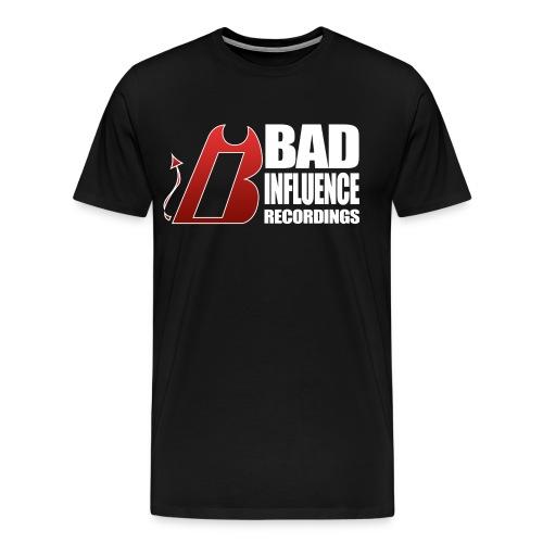 Bad Influence Recordings T-Shirt - Men's Premium T-Shirt