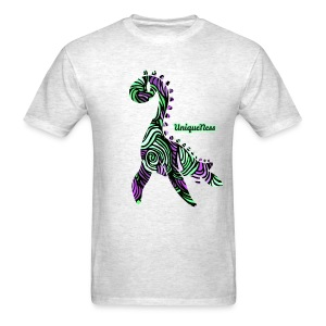 Untamed - Violet / Mint - Men's T-Shirt