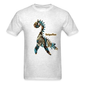 Untamed - Aqua / Sand - Men's T-Shirt
