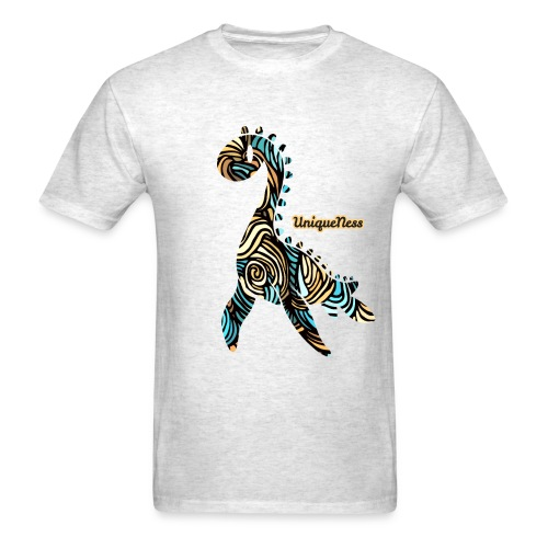 Untamed - Aqua / Sand - Men's T-Shirt