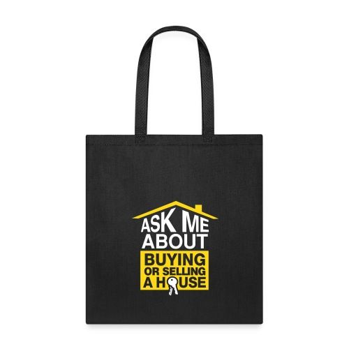 Ask Me About tote - Tote Bag