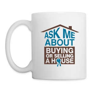 Ask Me About right mug wht - Coffee/Tea Mug