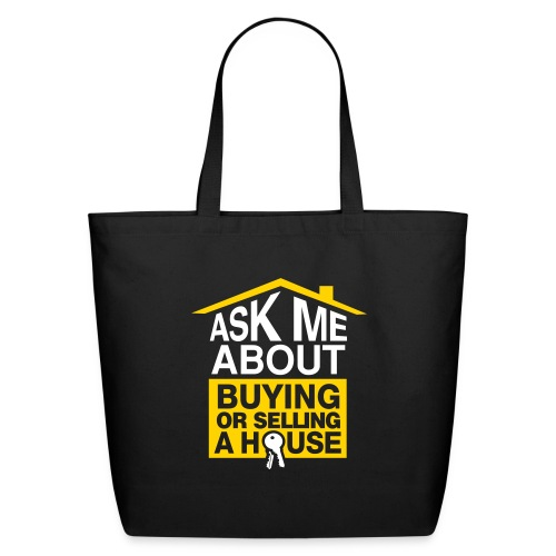 Ask Me About cotton tote - Eco-Friendly Cotton Tote