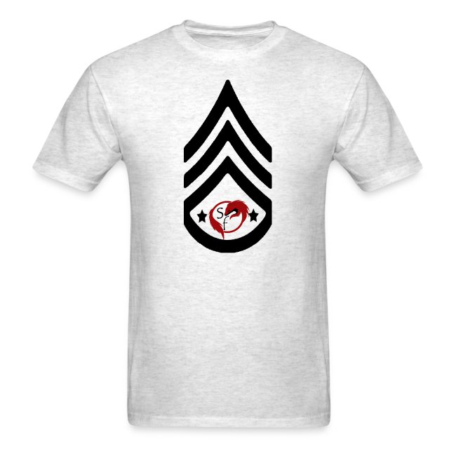 Stonefox Army RANK 9 Fitted T-Shirt