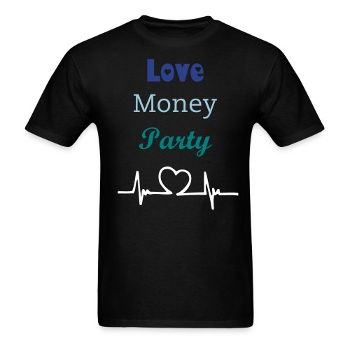 Love Money Party - Men's T-Shirt